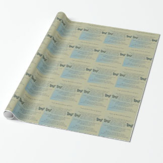 Prayer of St. Francis of Assisi Wrapping Paper