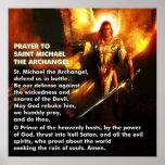 Prayer of St. Michael Poster