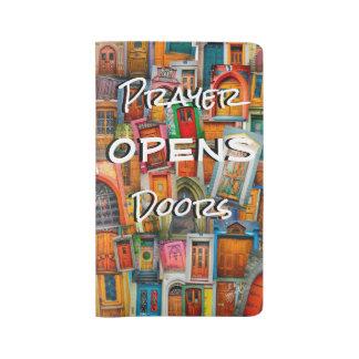 Prayer Opens Door Large Prayer Journal Moleskine