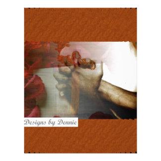 Prayer & Roses Custom Letterhead