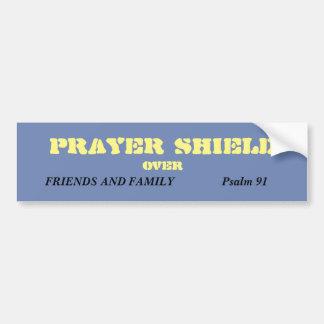 Prayer Shield Bumper Sticker