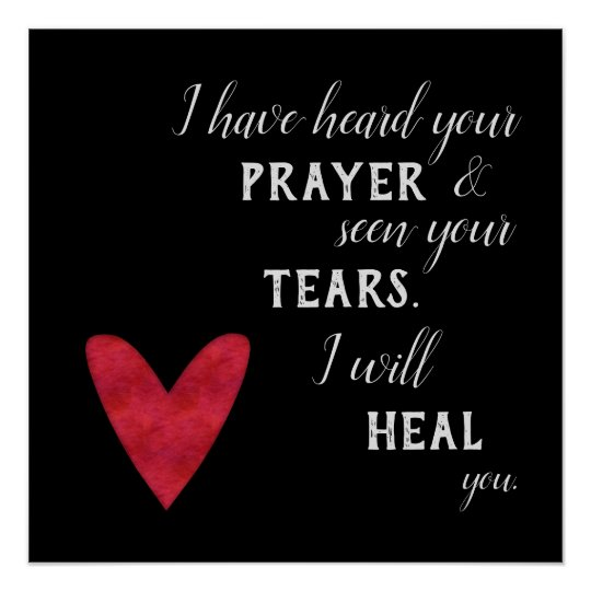 Scripture For Healing And Comfort