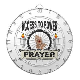 prayer the access to power dartboard
