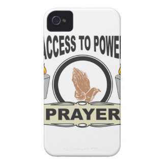 prayer the access to power iPhone 4 case