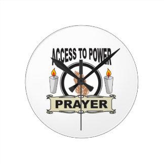 prayer the access to power round clock