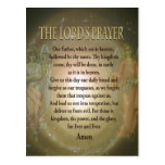 Prayer - The Lord's Prayer Postcard