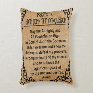 Prayer to High John the Conqueror Art Pillow