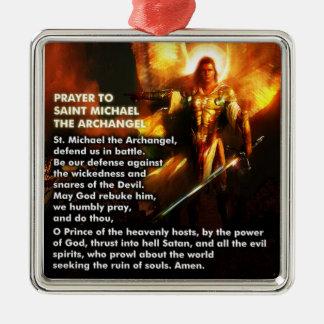 Prayer to St. Michael Ornament