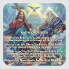 Prayer to THE HOLY TRINITY Square Sticker
