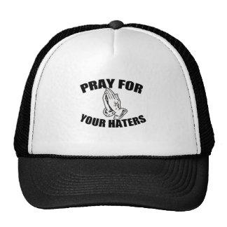 prayer trucker hat