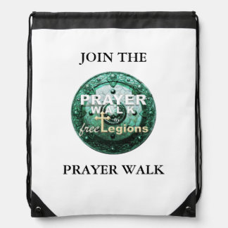 PRAYER WALK DRAWSTRING BAG