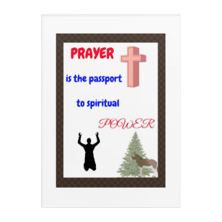 Prayer wall decals, serenity prayers acrylic wall art