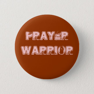 Prayer Warrior Button