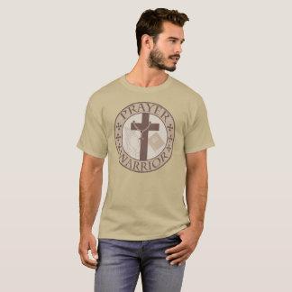 PRAYER WARRIOR CHRISTIAN SHIELD T-Shirt