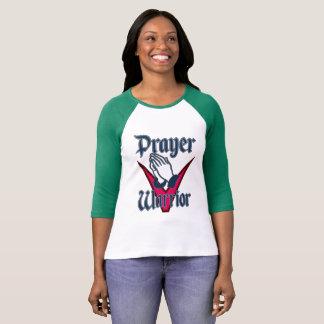 Prayer Warrior Ladies Raglan T-Shirt