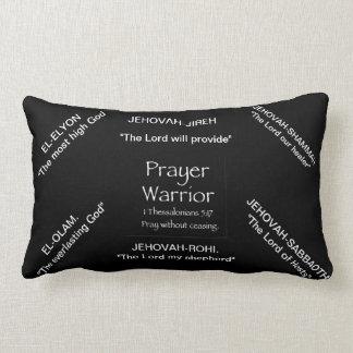 prayer warrior lumbar pillow