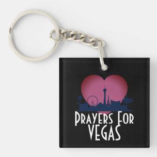 Prayers For Las Vegas Keychain