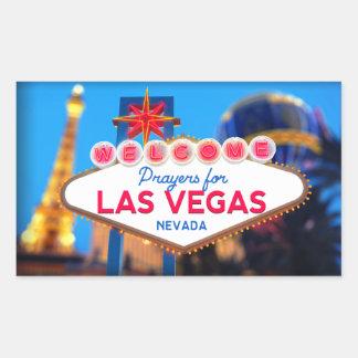 Prayers For Las Vegas Sticker