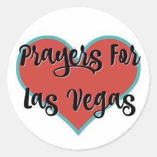 Prayers For Las Vegas Tribute Stickers