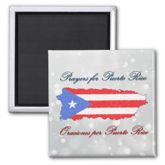 Prayers for Puerto Rico Magnet