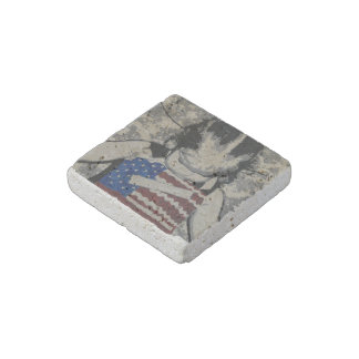 """Prayers"" Natural Stone Magnet"