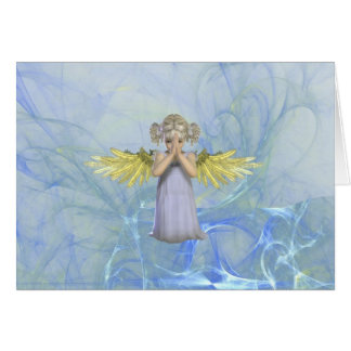 Praying Angel Greeting Card