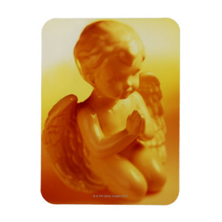 Praying angel statue magnet