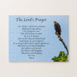 Praying Eagle Jigsaw Puzzle