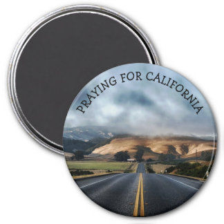 Praying for California Fire Victims magnet