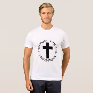 Praying for our peacemakers 72marketing cops cross T-Shirt