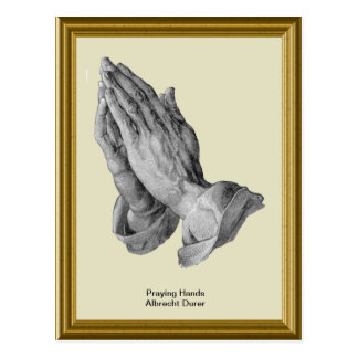 Praying Hands Albrecht Durer Postcard