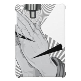 Praying Hands Graffiti iPad Mini Covers