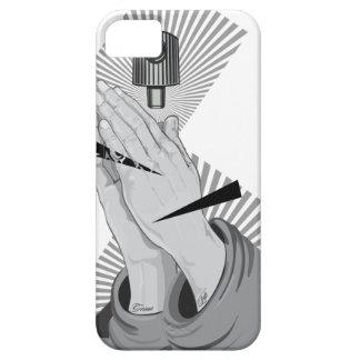 Praying Hands Graffiti iPhone 5 Case
