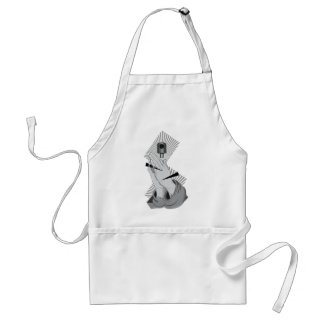 Praying Hands Graffiti Standard Apron