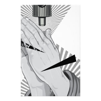 Praying Hands Graffiti Stationery