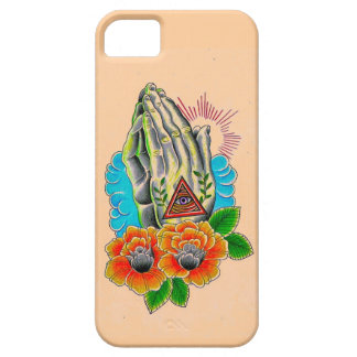 praying hands iPhone 5 cover