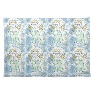 Praying Lamb Angel Placemats