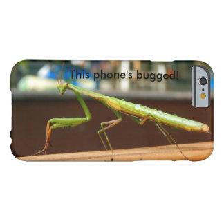 Praying Mantis Bugged iPhone Case