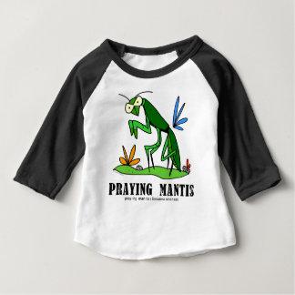 Praying Mantis by Lorenzo Traverso Baby T-Shirt