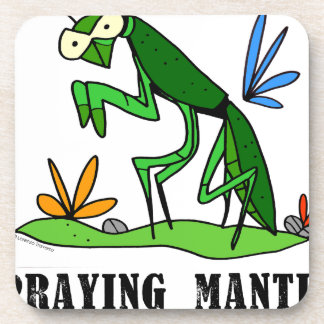 Praying Mantis by Lorenzo Traverso Coaster