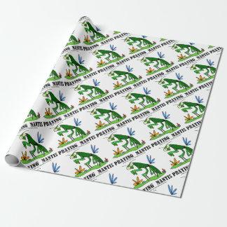 Praying Mantis by Lorenzo Traverso Wrapping Paper