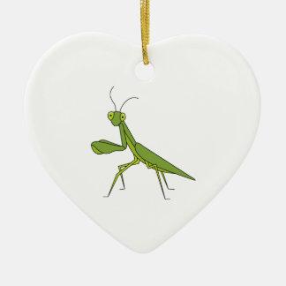 Praying Mantis Ceramic Ornament