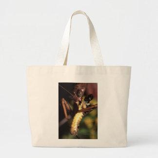 Praying Mantis Large Tote Bag
