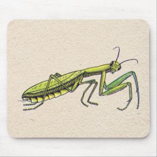 Praying Mantis Mouse Pad