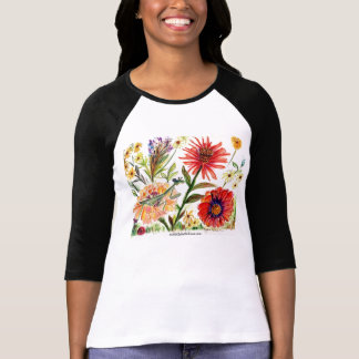 Praying Mantis Shirt Flower 54