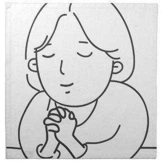 Praying Napkin