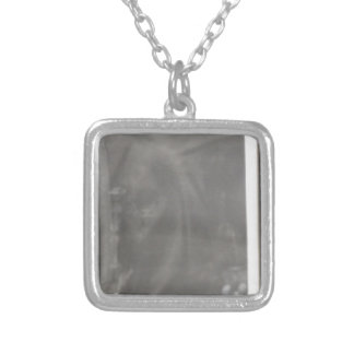 praying silver plated necklace