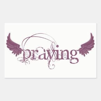 Praying Sticker
