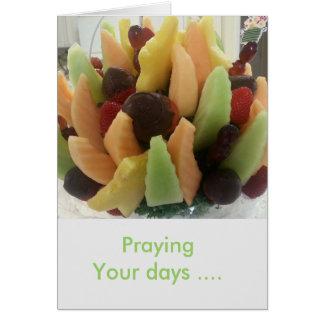 Praying Your Days Card