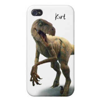 Pre-Historic Dinosaur Custom iPhone 4/4S Case